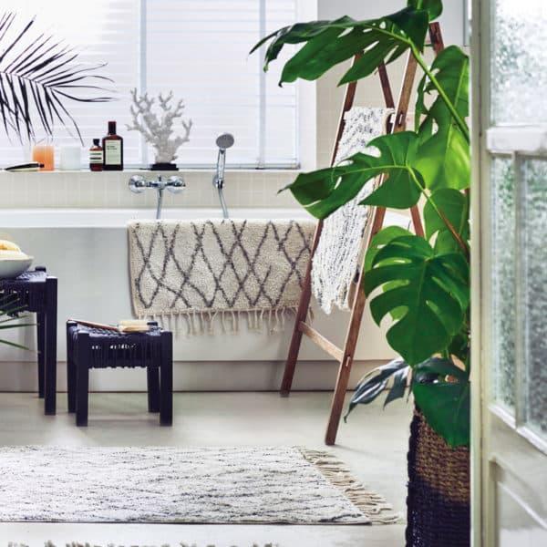 apis de bain 60x90 cm - BERBERE - HEMOON - Maison & Décoration
