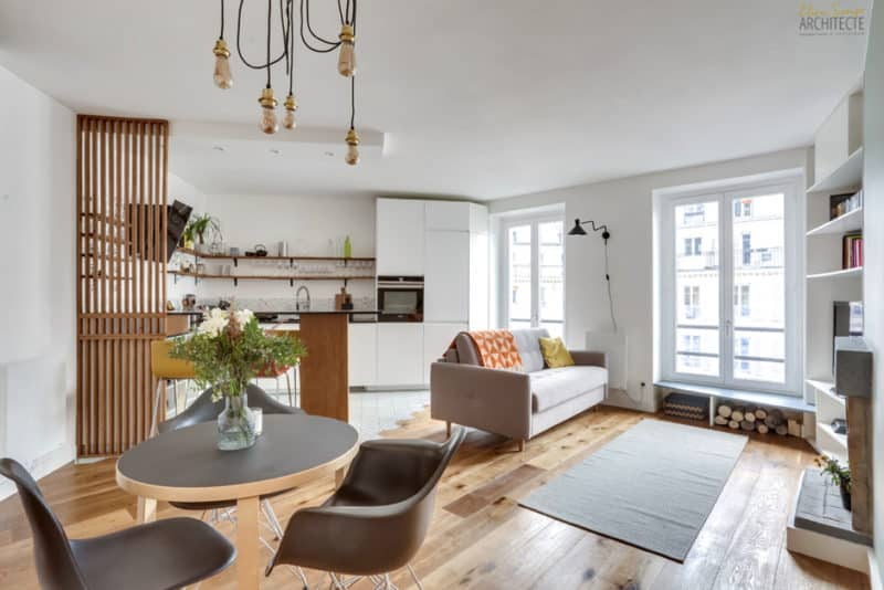 Un appartement transformé…en cocon familial !