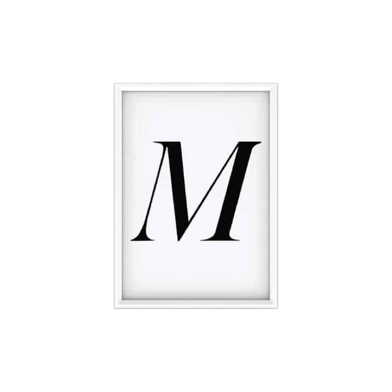 Poster 50x70 cm - M - HEMOON - Maison & Décoration