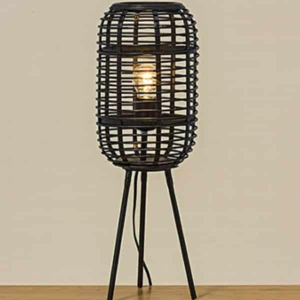 Lampe naturelle en bambou Portobello - Décoration naturelle et bohème