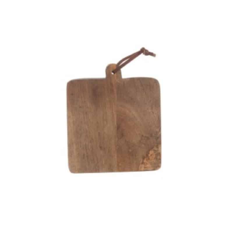Planche en bois naturel carrée - HEMOON - Maison & Décoration