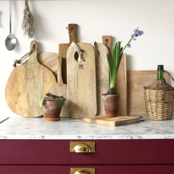 Planche en bois ronde irrégulière - HEMOON - Maison & Décoration