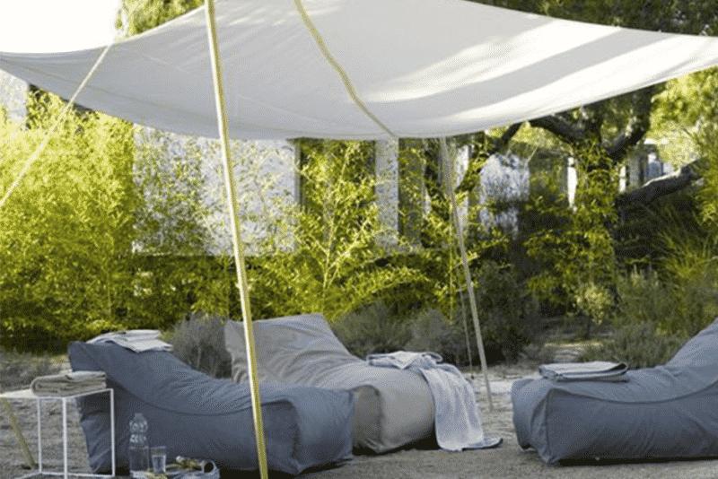 La voile d'ombrage : Inspirations pour une terrasse réussie !