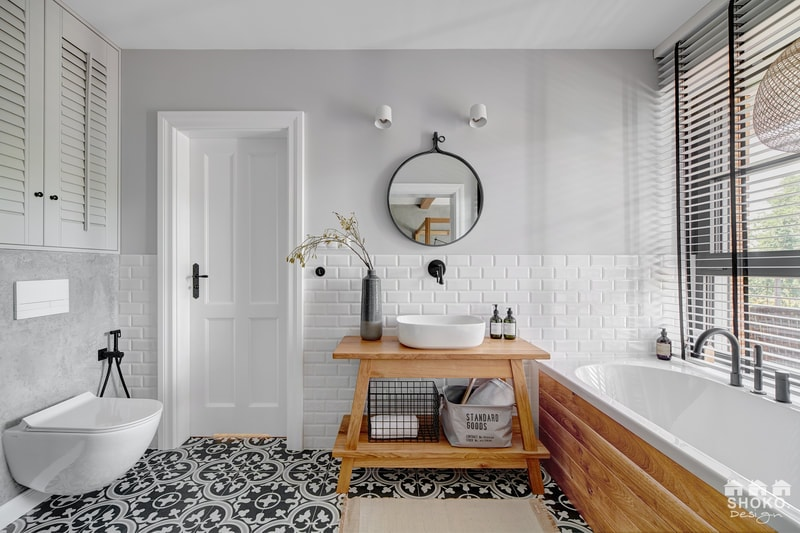 Inspiration salle de bain typique new-yorkaise