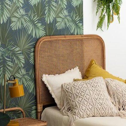 Tête de lit cannage soldes décoration et meubles