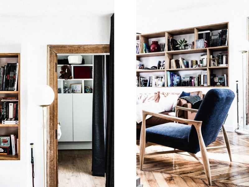 Décoration d'un appartement Haussmannien : Chic, vintage & cannage