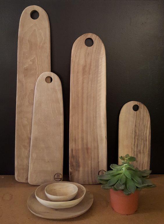 Planche à découper en bois par Honoré Déco, pour un intérieur durable et responsable