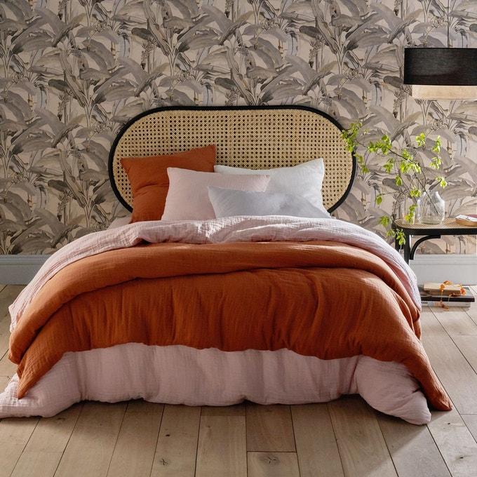 Parure de lit en gaze de coton une nouvelle matière naturelle tendance dans le linge de maison