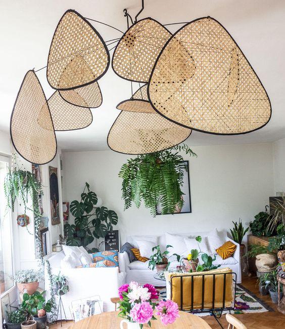 Suspension en cannage collection SCREEN chez Market Set : la dernière tendance dans la décoration intérieure