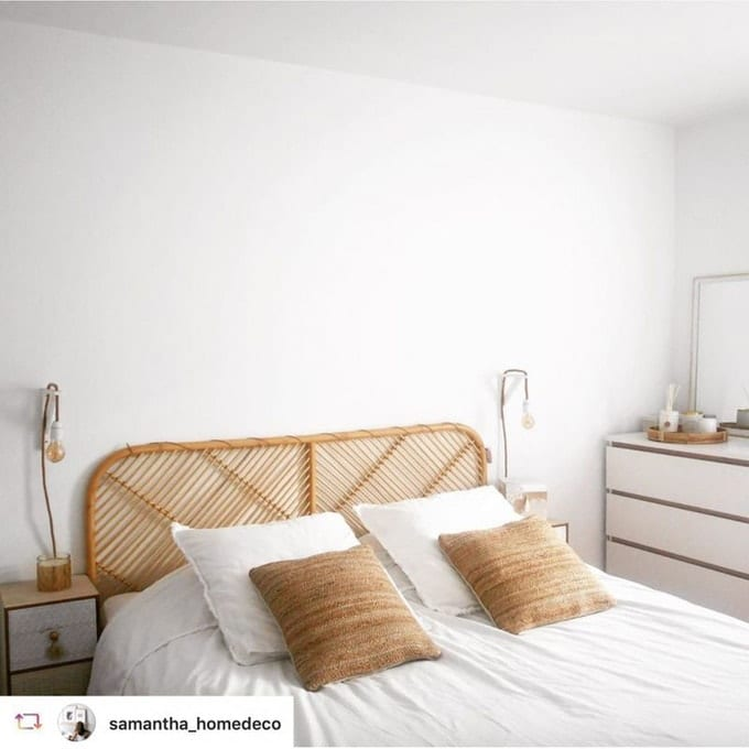 Tête de lit en rotin - Drawer