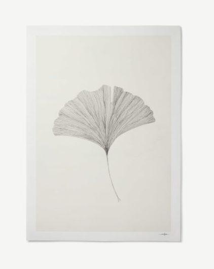 Affiche Grinko Leaf collaboration chez Made.com