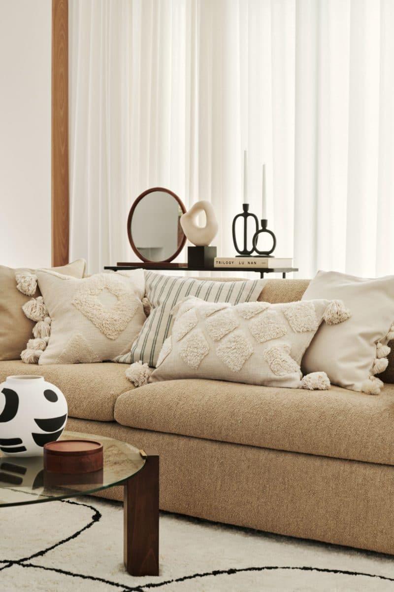 Housse de coussin maison californienne - H&M Home