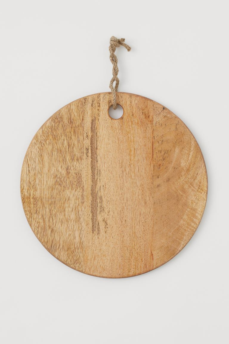 Planche à découper ronde en bois H&M Home