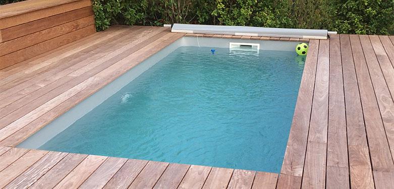 Inspiration de piscine hors-sol ,réalisée par Ozeobois