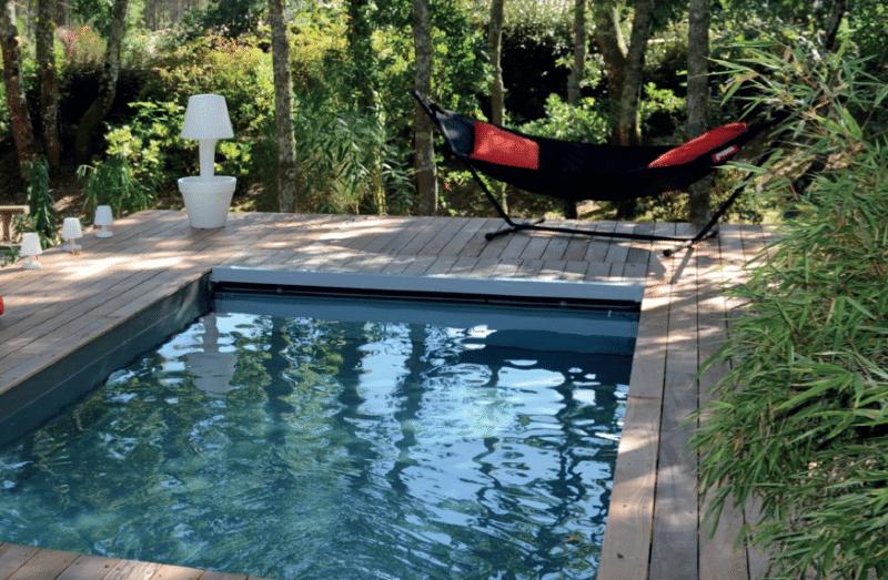 Jardin avec piscine hors-sol le jardin de rêve