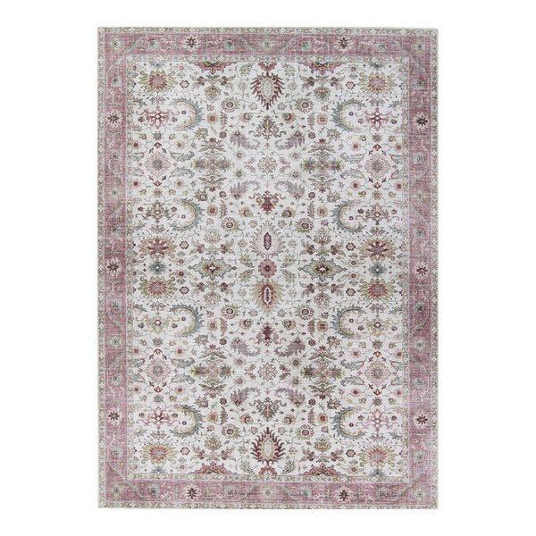 Tapis rose nude vintage effet usé - La Redoute intérieurs - Les tapis usés stars de nos intérieurs