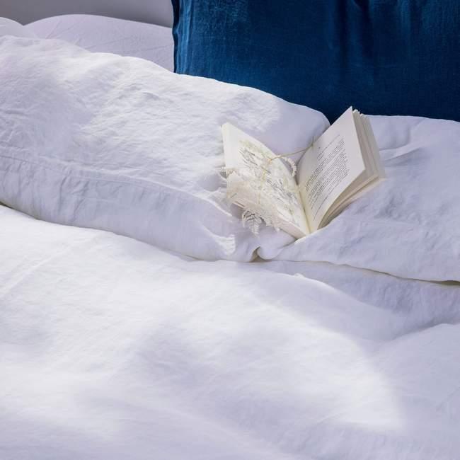 Parure de lit en lin lavé par La Chambre Paris